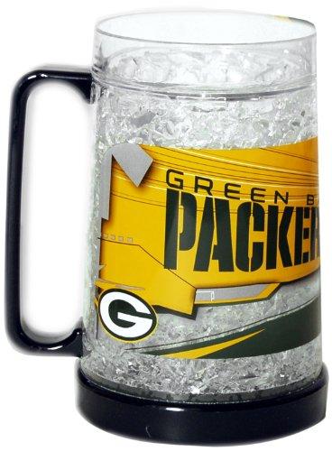 NFL Green Bay Packers 16-Ounce Crystal Freezer Mug