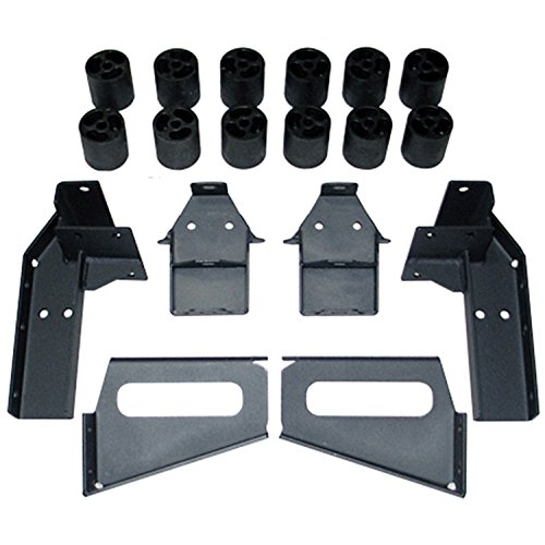 Performance Accessories, Chevy/GMC Tahoe/Yukon/Suburban 1500 Gas 2WD and 4WD 3″ Body Lift Kit, fits 2007 to 2013, PA10183, Made in America
