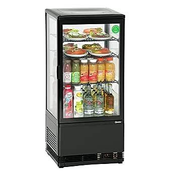 Frigo Vitrine à Poser - Noire 78 litres - Bartscher: Amazon.es ...