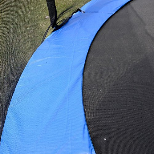 Safety Round Frame Blue Pad Spring Pad Replacement Cover for 14FT Trampoline TKT-11 by TKT-11