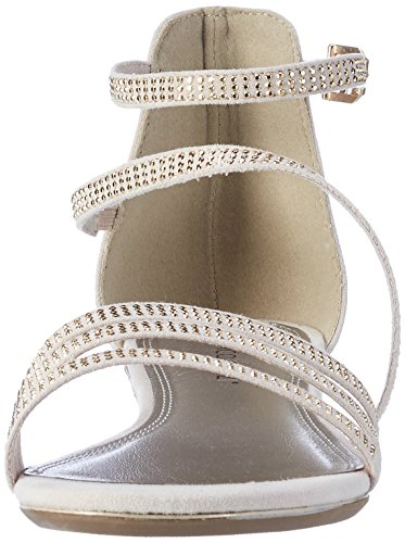 Sandales De Femmes Beige Coin Talons Marco crème 28111 Tozzi 403 AqwxXYnn7v