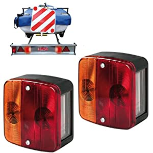 VAUXHALL COMBO MK2 MK3 2001-2012 Rear Tail Light Lamp Right+Left Pair