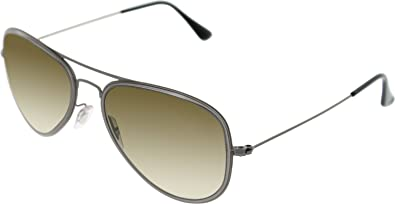 ebc2799048 Image Unavailable. Image not available for. Color  Ray-Ban RB3513M Aviator  Flat Metal (M) Sunglasses ...