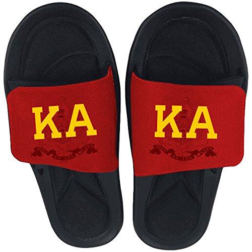 Uttrykke Designgruppen Kappa Alpha Lysbilde På Sandaler Flerfarget