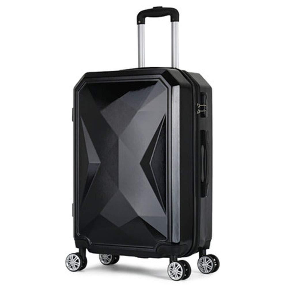 20インチ旅行トロリーケース、ユニセックススーツケース、360度ユニバーサルホイールスーツケース ABS素材   B07R49MRQJ