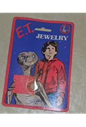 E.t. the Extra Terrestrial in Wreath Moc Charm / Zipper Puller Jewelry