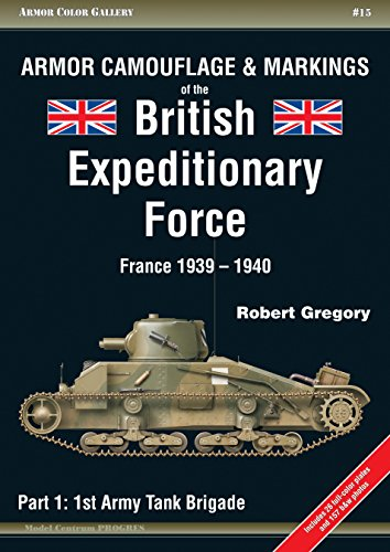 Armor Camouflage & Markings of the British Expeditionary Force, France 1939-1940: Part 1: 1st Army Tank Brigade (Armor Color Gallery) ()