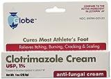(5 Pack) Clotrimazole Antifungal Cream 1% USP 1.0