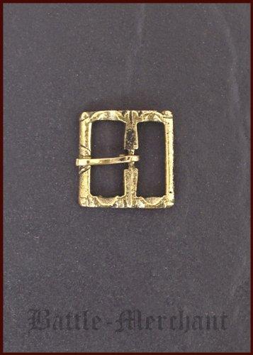 Spätmittelalter Schnalle aus Messing, Nr. 24