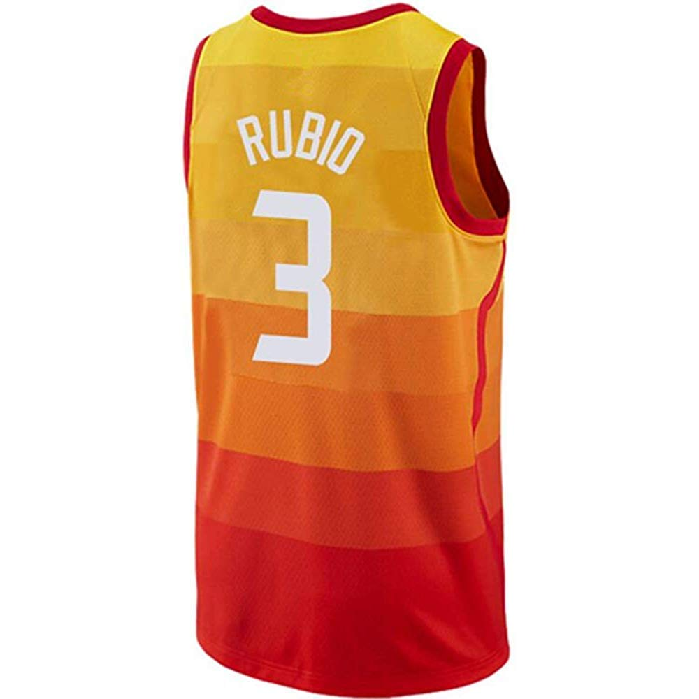 buy online 44be3 17955 Amazon.com: Outerstuff Ricky Rubio Orange City Edition ...