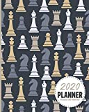 Chess Master Pieces  2020 Planner Weekly And Monthly: Calendar Schedule and Organizer. Inspirational Quotes | January 2020 through December 2020