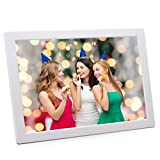 17 inch LED Digital Photo Picture Frame, AKImart High Resolution 1440×900 Widescreen 1080P Wall Mountable with Remote Control