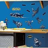 #9: RoomMates RMK1148SCS Batman: Gotham Guardian Peel & Stick Wall Decals