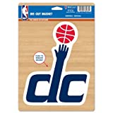 Washington Wizards Official NBA 6''x9'' Car Magnet by Wincraft