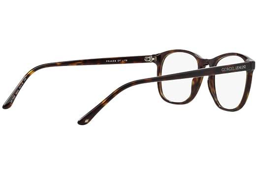Giorgio Armani Für Mann 7003 Matte Dark Tortoise Kunststoffgestell Brillen, 52mm