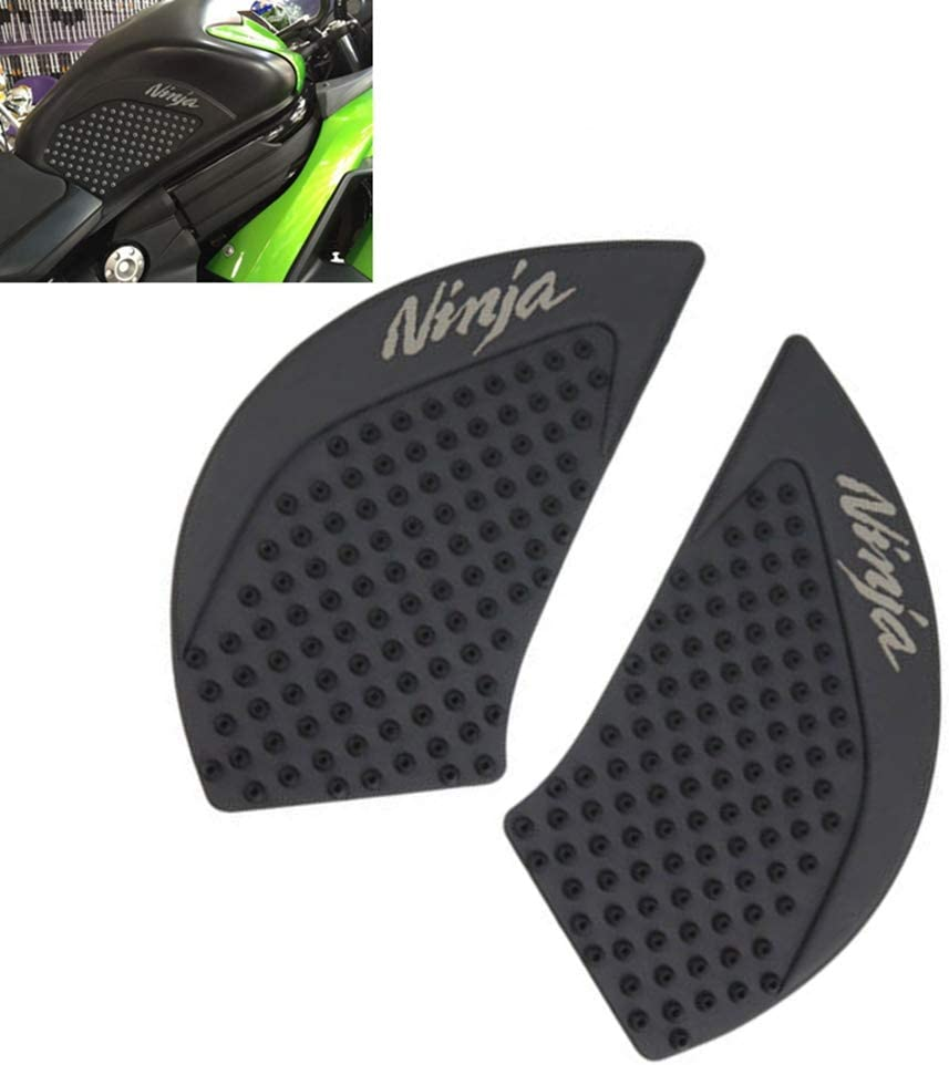 Motorcycle Gas Tank Pad Traction Side Pads Gas Fuel Knee Grip Decal Protector For Kawasaki Ninja 650 2017