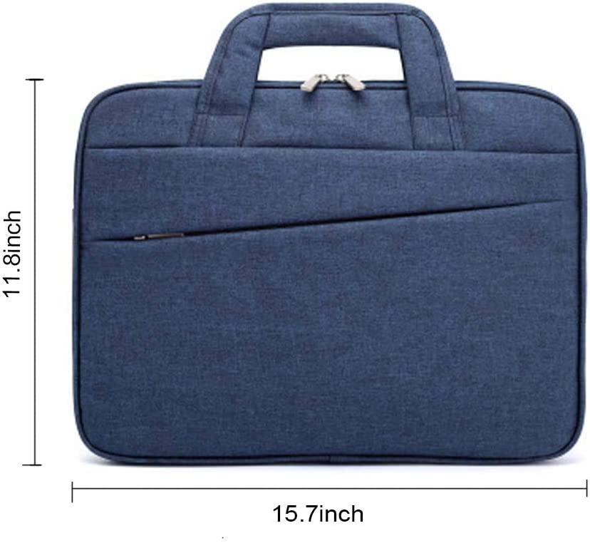 Business Casual or School,for Women and Man Multi-Functional Notebook Sleeve,Upgraded Shock-Proof Satchel Tablet Carrying Handbag HHMH Laptop Bag