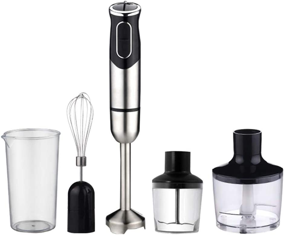 Immersion Hand Blender,stick Blender With 600ml Food Grinder, Bpa-free,multi-function Household Blender Baby Juice Machine Kitchen Aid Mixer