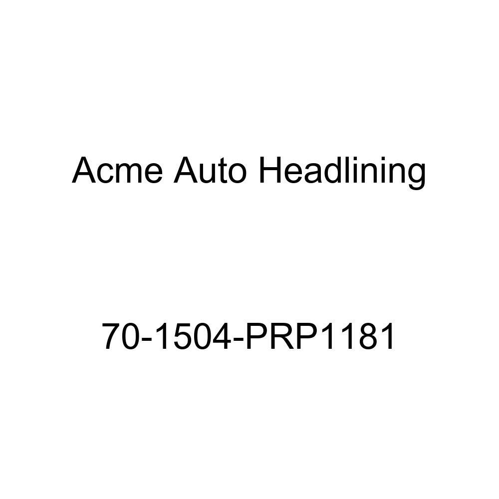 Acme Auto Headlining 70-1504-PRP1181 White Replacement Headliner 1970 Pontiac Bonneville, Catalina and Executive 4 Door Sedan 5 Bow
