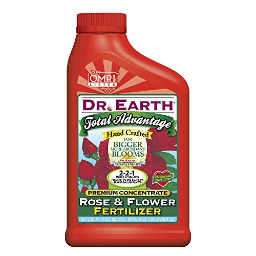 Dr. Earth Total Advantage Rose and Flower Liquid Fertilizer 24 oz Concentrate
