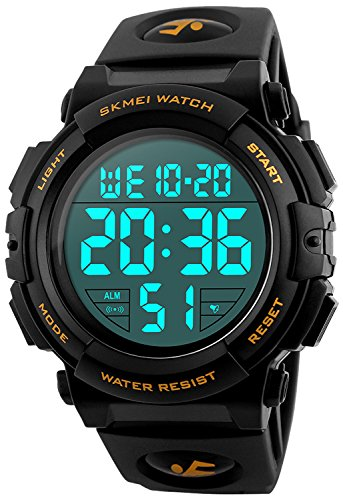 Fanmis S-Shock Multi Function Digital LED Quartz Watch Water Resistant Electronic Sport Watches