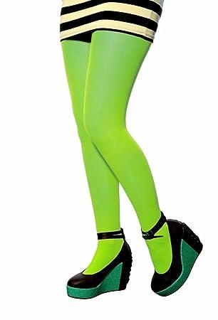 verschiedenes Design achten Sie auf preiswert kaufen think-louder New Neon Strumpfhose Damen blickdicht Fancy ...