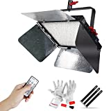 Aputure Light Storm LS 1s Studio 1536 SMD Led Daylight Led Light Panel Features High CRI95+, High Brightness 30300lux@0.5m with Sturdy Metal Bracket for Hanging on The Ceiling/High Locations