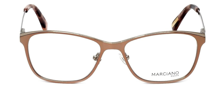 ca13f5dbbfc Amazon.com  Eyeglasses Guess By Marciano GM 255 (GM 255) GM0255 (GM0255)  029  Clothing
