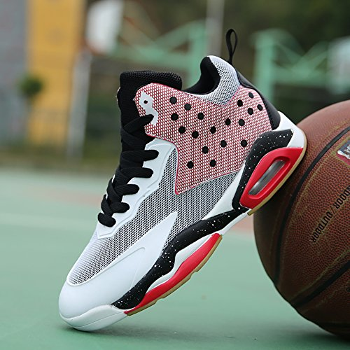 Shoes Town Trainers Basketball White Shoes Men's Performance 66 Running No pink Shock Air Absorption CU58SwqT