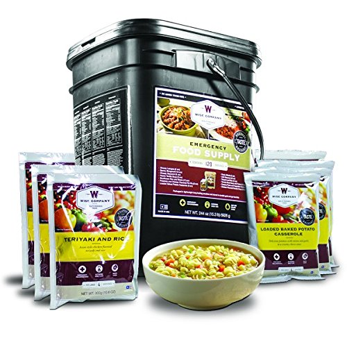 Wise Company, Emergency Food Supply, Freeze-Dried Entree Variety, 120 Servings by Wise Company