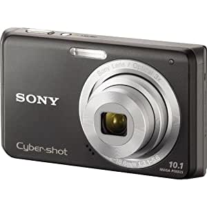 Sony Cybershot DSC-W180 10.1MP Digital Camera with 3x SteadyShot Stabilized Zoom and 2.7-inch LCD (Black)