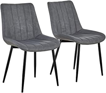 Amazon Com Hq Qili Dining Chairs Armless Leather