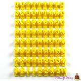 Set of 72pcs Alphabet Number & Letter Cookie