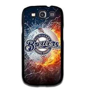 Diy Phone Custom Design Forever MLB Milwaukee Brewers Team Case Cover For Samsun Galaxy S3 I9100 Cover