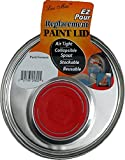 paint lids - Replacement Metal 1-Gallon Paint Can Lid with Pour Spout