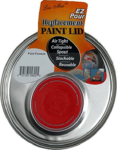 1 Gallon Replacement - Replacement Metal 1-Gallon Paint Can Lid with Pour Spout