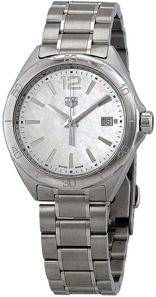 TAG Heuer Reloj de Mujer Cuarzo 35mm Correa de Acero Caja de WBJ1318.BA0666