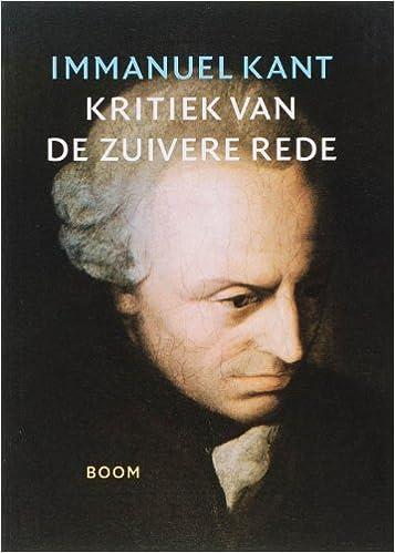 Amazoncom Kritiek Van De Zuivere Rede Dutch Edition