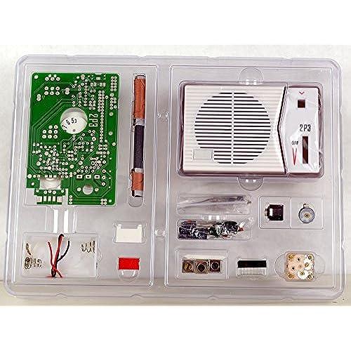 Electronic kits to build amazon tecsun 2p3 am radio receiver kit diy for enthusiasts built it into a radio case solutioingenieria Gallery