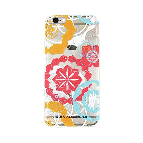 Gina Alexander iPhone 6 Unambiguous Case (Vibrant Abstract Flowers)