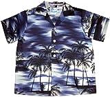RJC Boys Night Time Surf Shirt in Navy Blue - 8