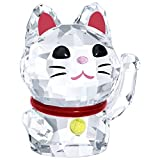 Swarovski Crystal '' Lucky Cat'' Figurine New 2018