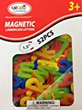 Magnetic Lowercase Alphabet Letters 52 pcs - 1.5 Inches by First Classroom