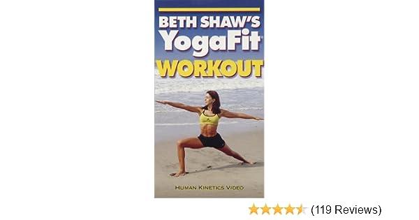 Amazon.com: Beth Shaws Yogafit Workout NTSC Video [VHS ...