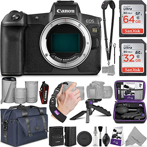 Canon EOS Ra Mirrorless Digital Camera Body with Altura Photo Complete Accessory and Travel Bundle