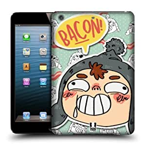 Head Case Designs Bacon Derp Patterns Protective Snap-on Hard Back Case Cover for Apple iPad mini with Retina Display iPad mini 3