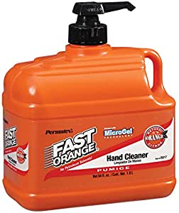 Permatex 25217 Fast Orange Pumice Lotion Hand Cleaner, 1/2 Gallon