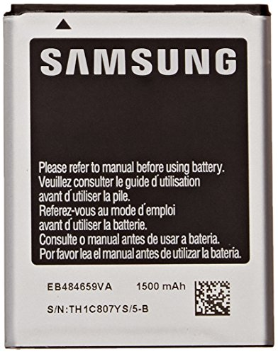 Samsung Original OEM Samsung EB484659VA 1500mAh Spare Replacement Li-ion Battery for Samsung Gravity Smart and Gravity Touch 2 - Battery - Non-Retail Packaging - Silver (Smart Gravity Battery Samsung)