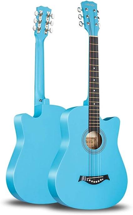 Boll-ATur Guitarra acústica for principiantes de 38 pulgadas ...