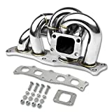 Toyota 3S-GTE Stainless Steel T3 T4 Turbo Manifold with 35mm/38mm Wastegate